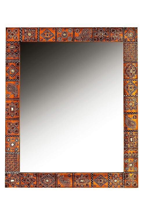 Orient Espejo Espejo de pared Nour 90 cm Grande | Espejo ...