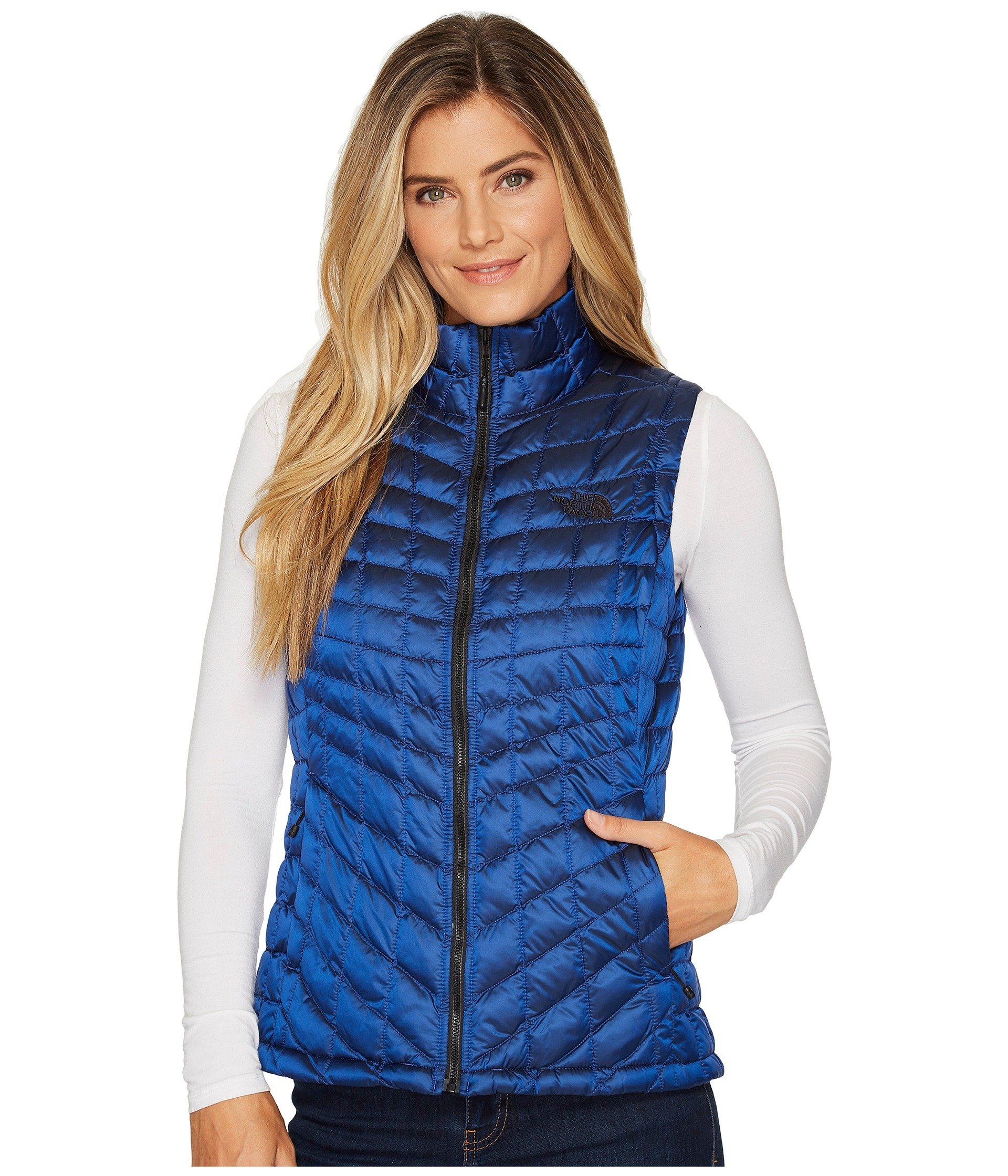 The North Face Women's Thermoball Vest Brit Blue (Small)