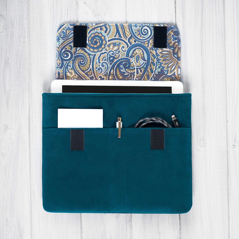 étui/housse/sleeve/pochette pour tablette iPad Pro Air 9.7 10,5 11 et 12.9 tissu velours