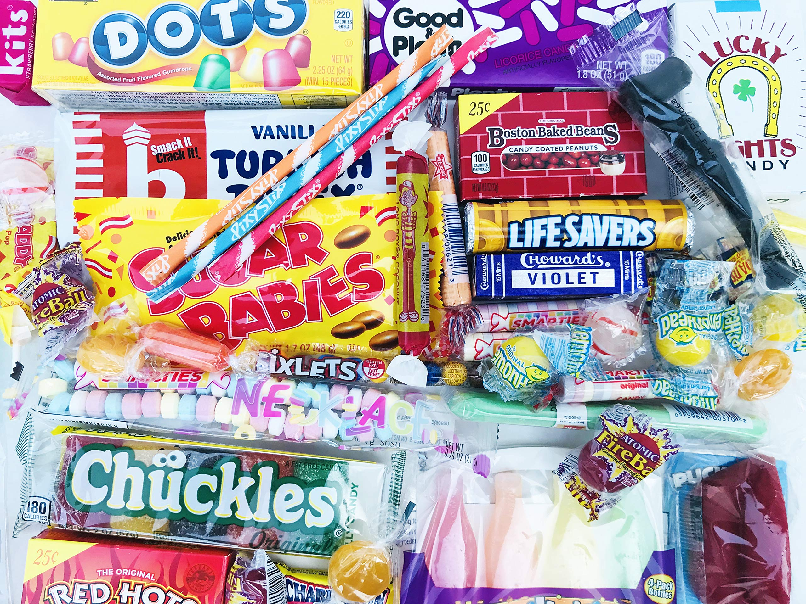 Woodstock Candy ~ 70th Birthday Gift Box of Retro Vintage Candy Assortment from Childhood for 70 Year Old Men and Women Born 1949 - Great Idea for Mom or Dad - Jr by Woodstock Candy (Image #5)