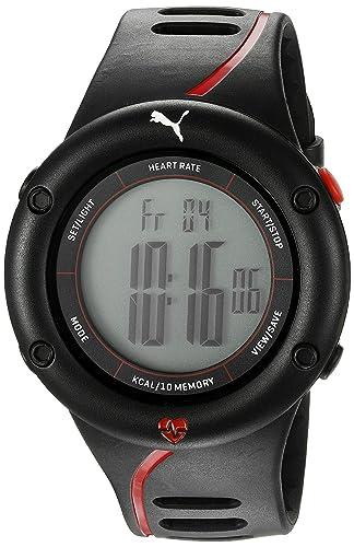 Puma Unisex pu911361002 91136 Pantalla Digital Cuarzo Reloj de Dos Tonos: Amazon.es: Relojes