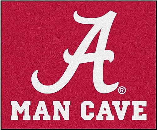 FANMATS 14526 University of Alabama Nylon Universal Man Cave Tailgater Rug