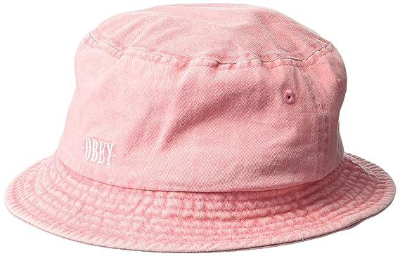 c4b7b0b492d Obey Men s Respect Twill Bucket Hat