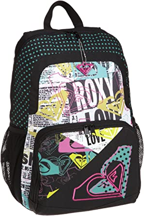 5c00828a312 Amazon.com: Roxy Big Girls' Delivery All Backpack, Black, One Size ...