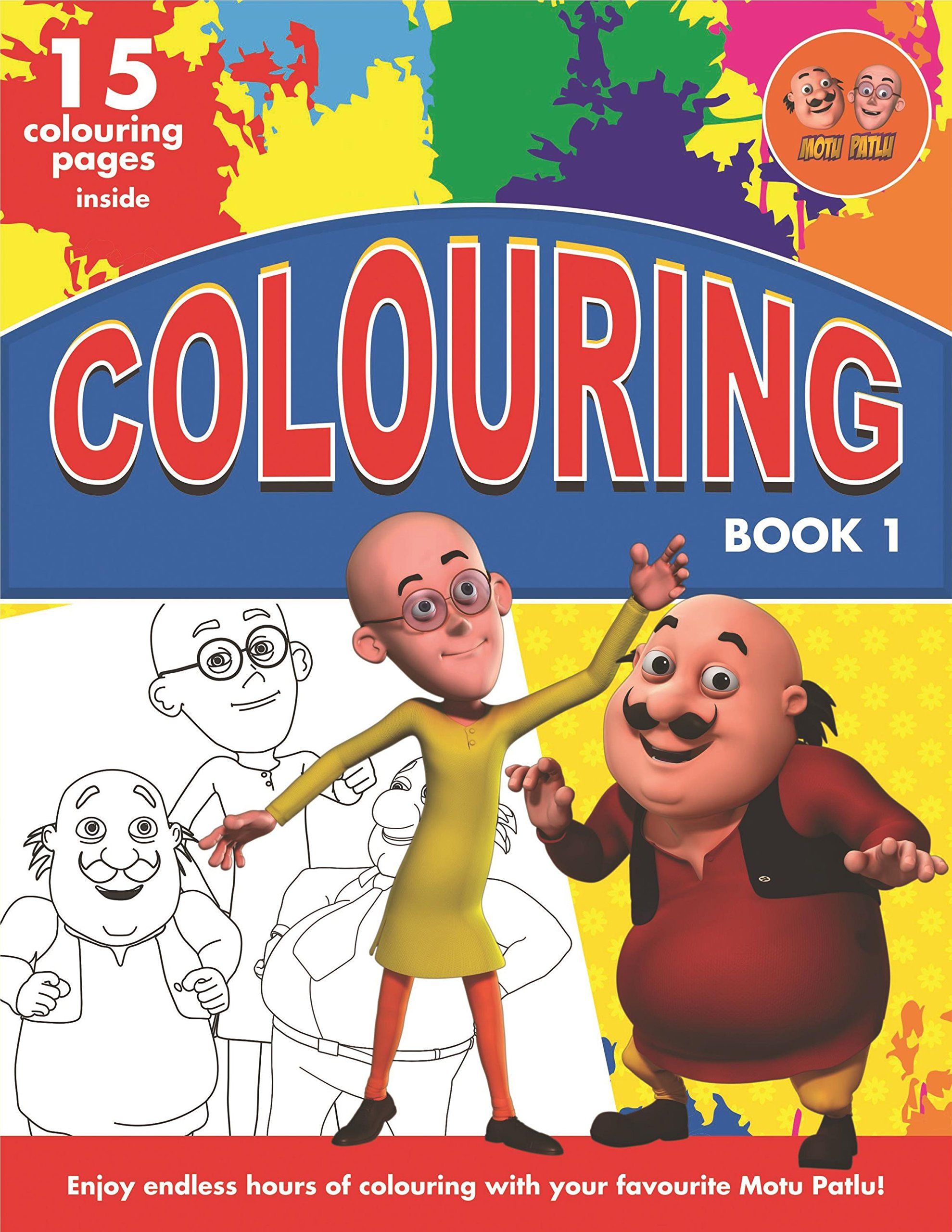 Buy Motu Patlu Colouring Book 1 Book Online At Low Prices In India