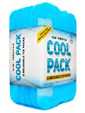 [NEW] Cool Pack, Slim Long-Lasting Ice Packs - Great for Coolers or Lunch Box (Set of 6)