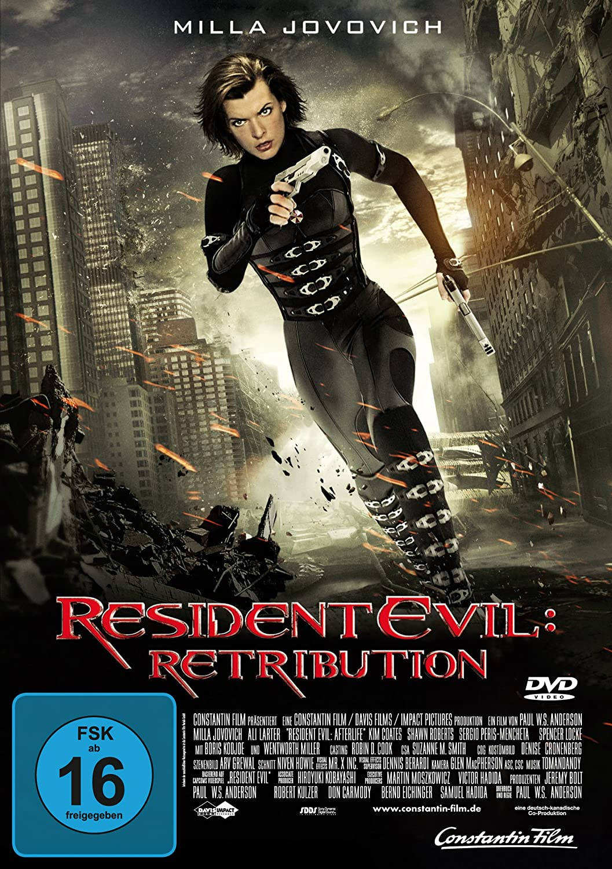 Amazon Com Dvd Resident Evil Retribution Import Allemand