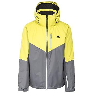 5a0109b6aa81 Trespass Hidey - Veste de Ski imperméable légère - Homme (2XS) (Carbone)   Amazon.fr  Vêtements et accessoires