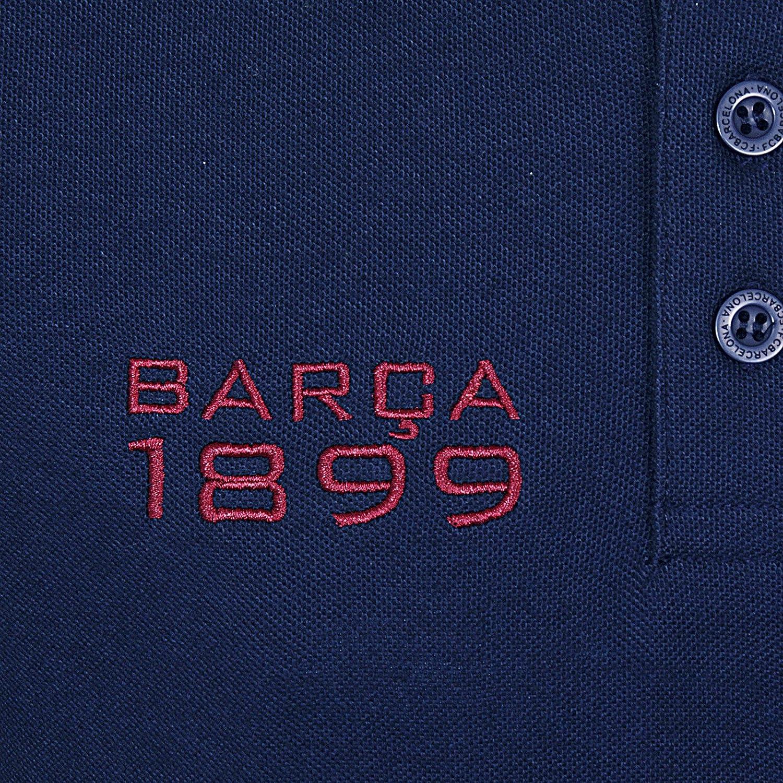 FC Barcelona Official Football Gift Boys Long Sleeve Polo Shirt
