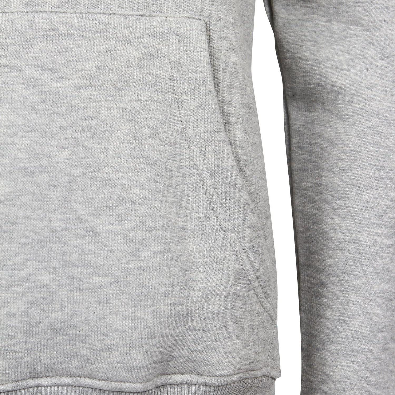 Mens Fleece Hoodie Pullover Sweatshirt Plain Overhead Hooded Top Gym Sports Joggers Hoody Casual Work Wear Jacket UK Size S-5XL