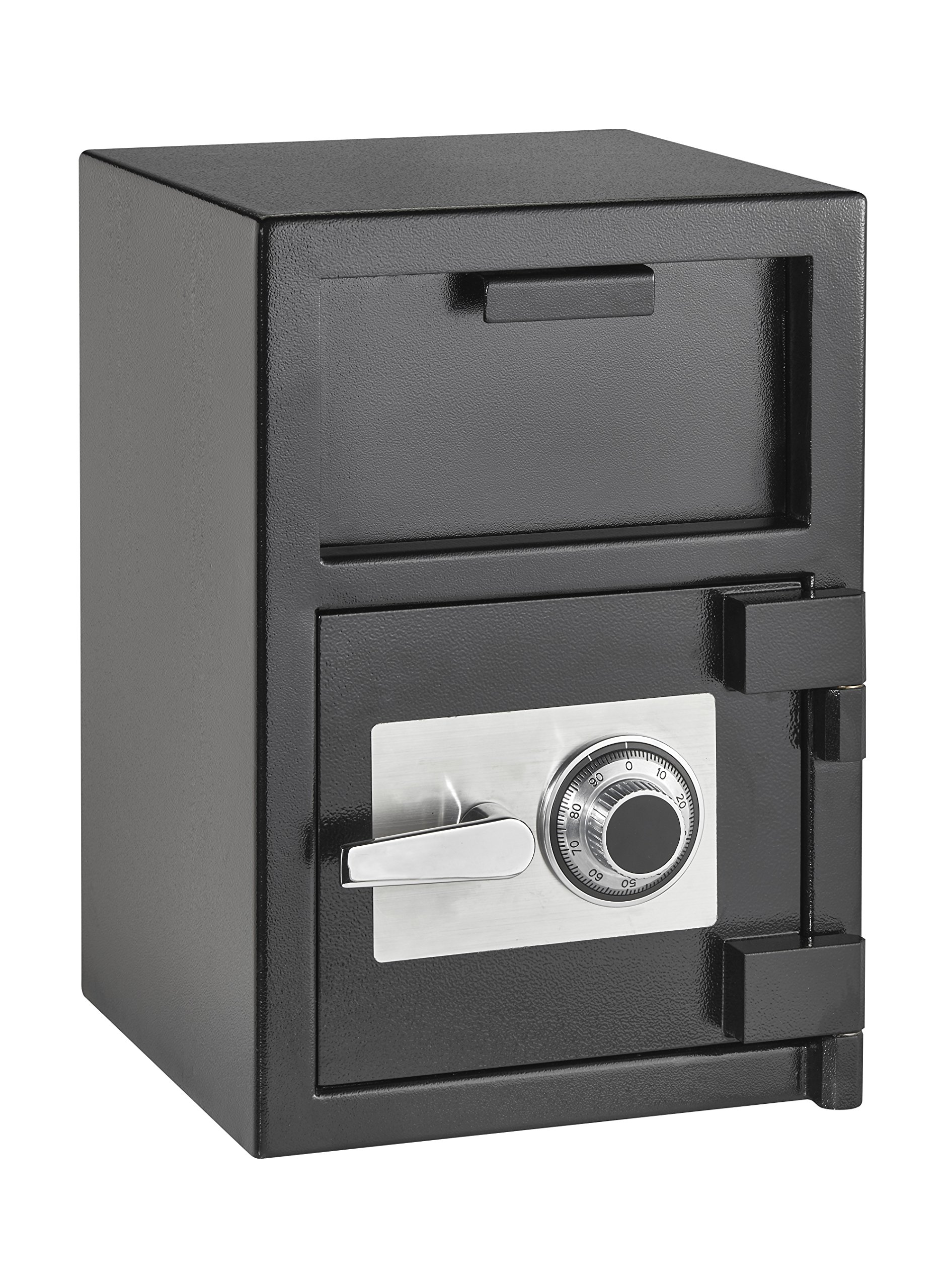 AdirOffice Hopper Loading Combination Lock Safe for Home and Offices (2 Cubic Feet, Black)