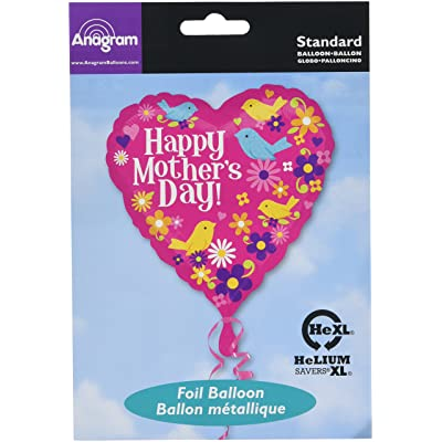 Anagram Happy Mothers Day Birds 18 Inch Foil Balloon: Toys & Games