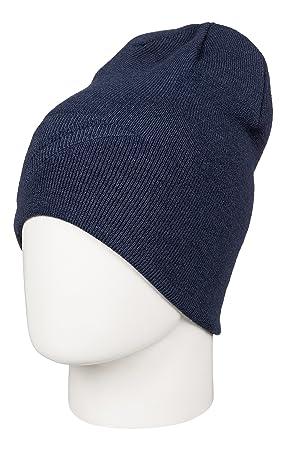 a533abd09a9 Quiksilver heatbag Men s Slouch Beanie Hat Navy  DC Shoes  Amazon.co ...