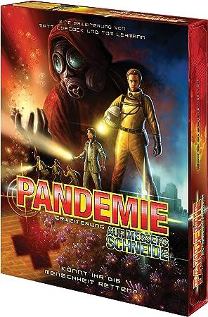 ZMan - Pandemia, al Filo de la Navaja, Juego de Mesa (versión en alemán): Amazon.es: Juguetes y juegos