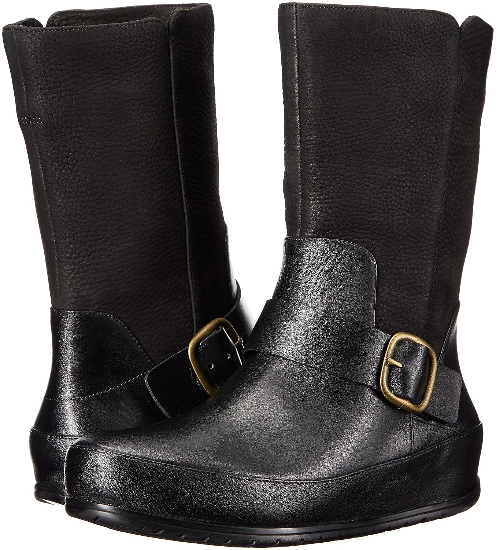 FitFlop Women's Dueboot Biker Winter Boot B00MV0Z8NQ 10 B(M) US|All Black