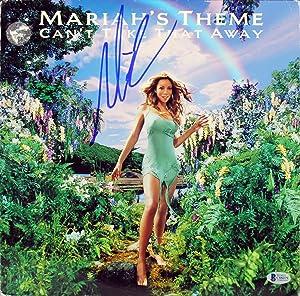 Mariah Carey Signed Mariah's Theme Can't Take That Away Album Cover BAS #C88079