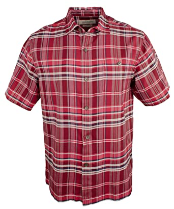 af486dcda96a45 Tommy Bahama Manoa Madras Silk Camp Shirt at Amazon Men s Clothing store