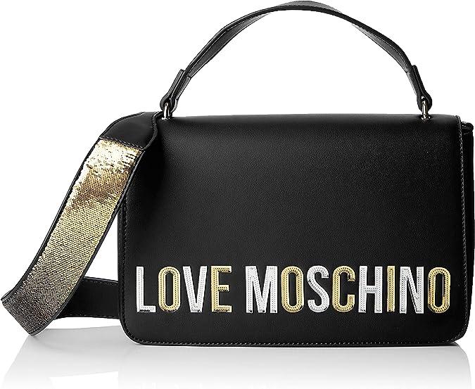 W x H x L Bolso tipo tote para Mujer 30x12x37 centimeters Love Moschino Borsa Natural Grain Pu