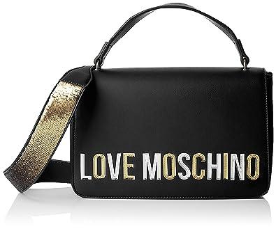 Love Moschino pu, borsa a mano donna, (rosso), 7x18x29 cm (w x h x l)
