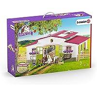 Schleich 42344 - Reiterhof mit Reiterin und Pferden