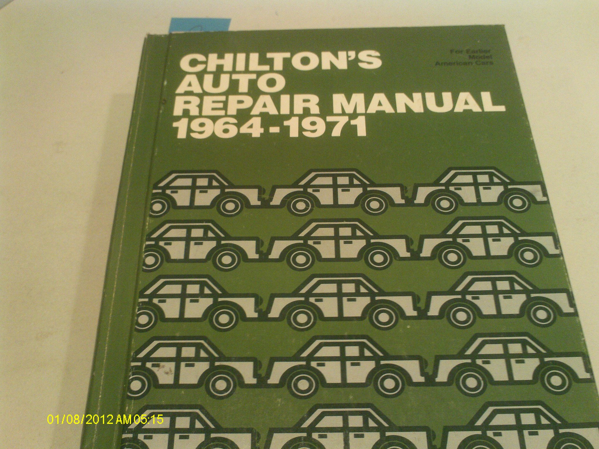 Chilton's Auto Repair Manual 1964-1971, Copyright 1971: Chilton Book  Company: Amazon.com: Books