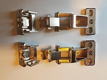 4 x Hettich Scharnier VORWERK Topfband Möbelband Topfscharnier in ...
