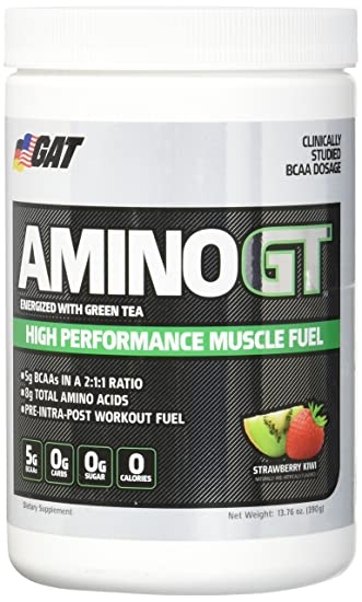 GAT Amino Gt Nutritional Supplement, Strawberry Kiwi, 390 Gram