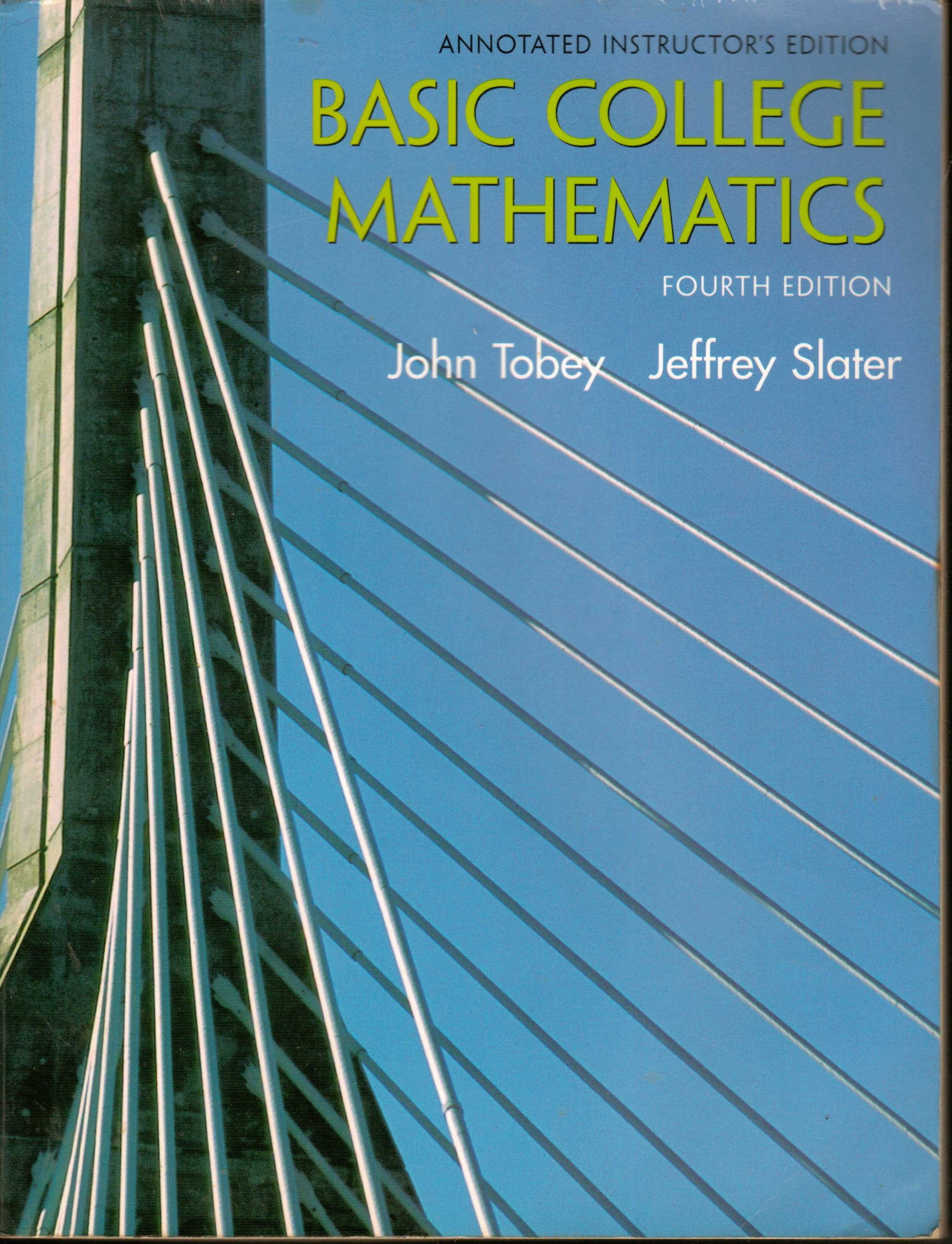 Download Basic College Mathematics: ANNOTATED INSTRUCTOR'S EDITION ebook