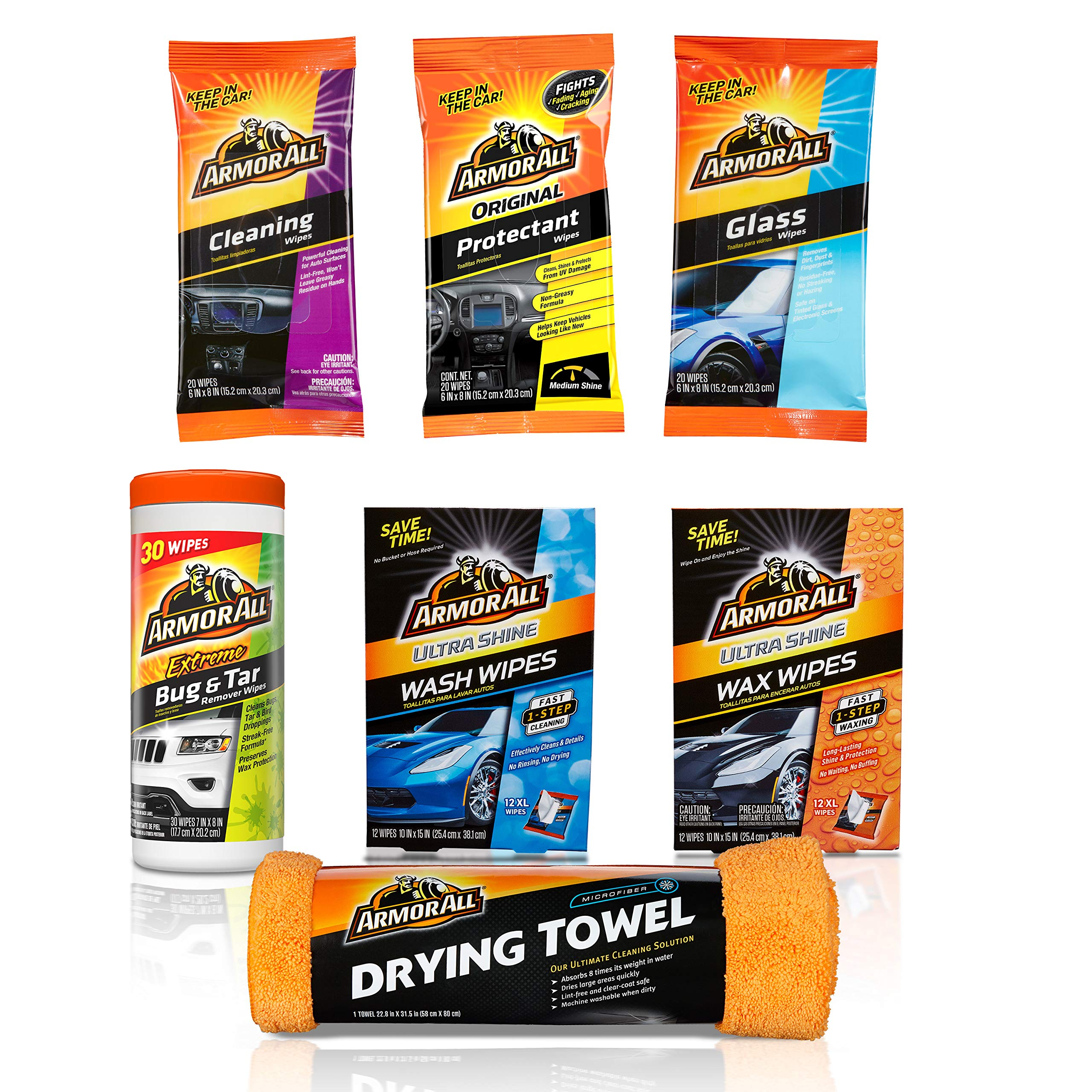 Armor All On-the-Go Car Cleaning Kit