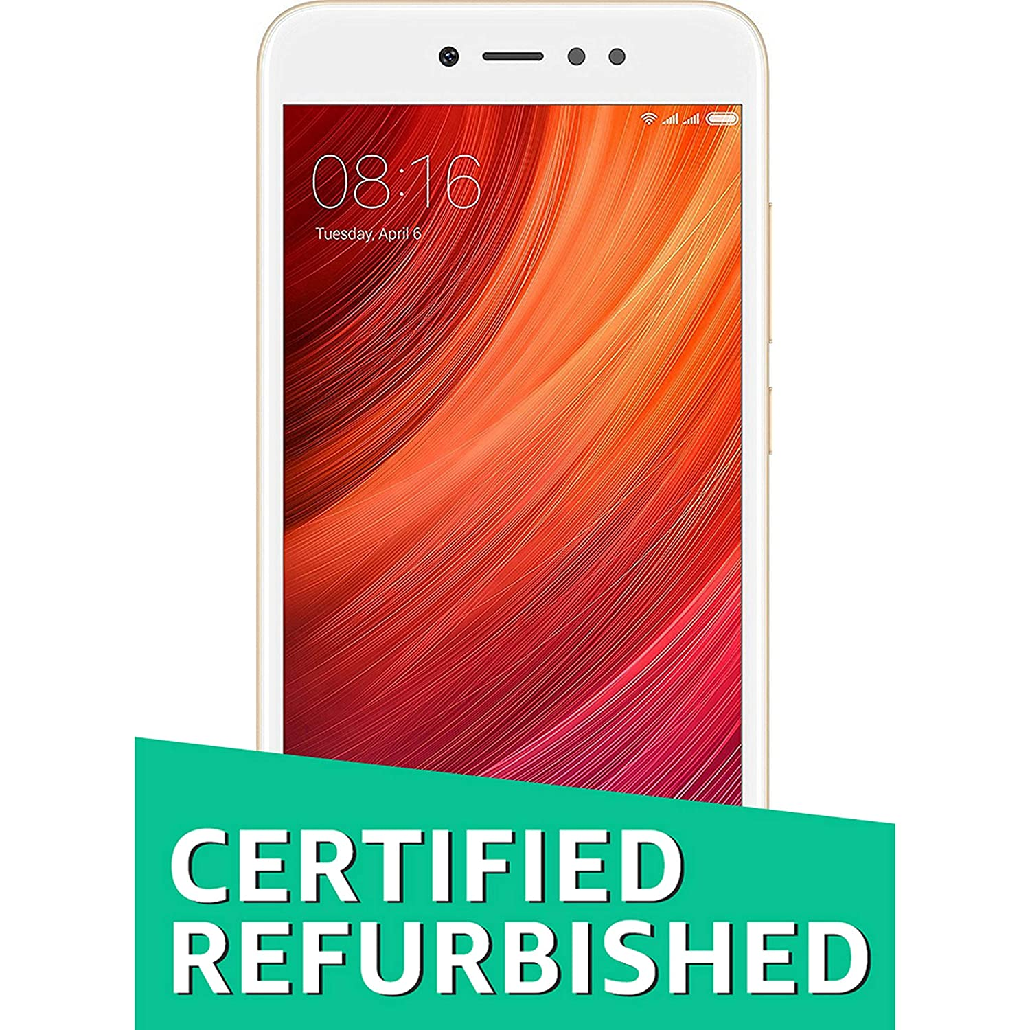 (Certified REFURBISHED) Mi Redmi Y1 (Gold, 64GB)