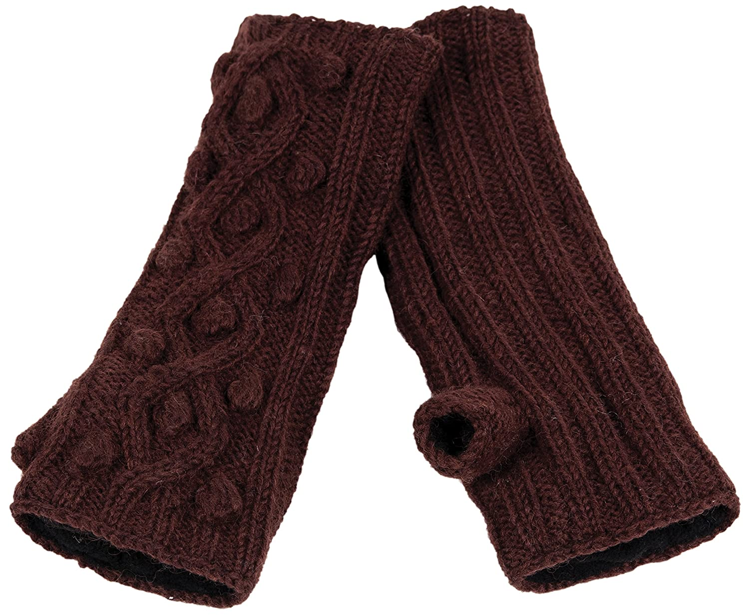 Nirvanna Designs MT70 Ball Knit Cable Hand Warmers