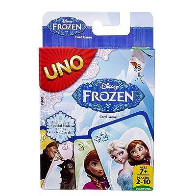Mattel Games Disney Frozen UNO Card Game: Toys & Games