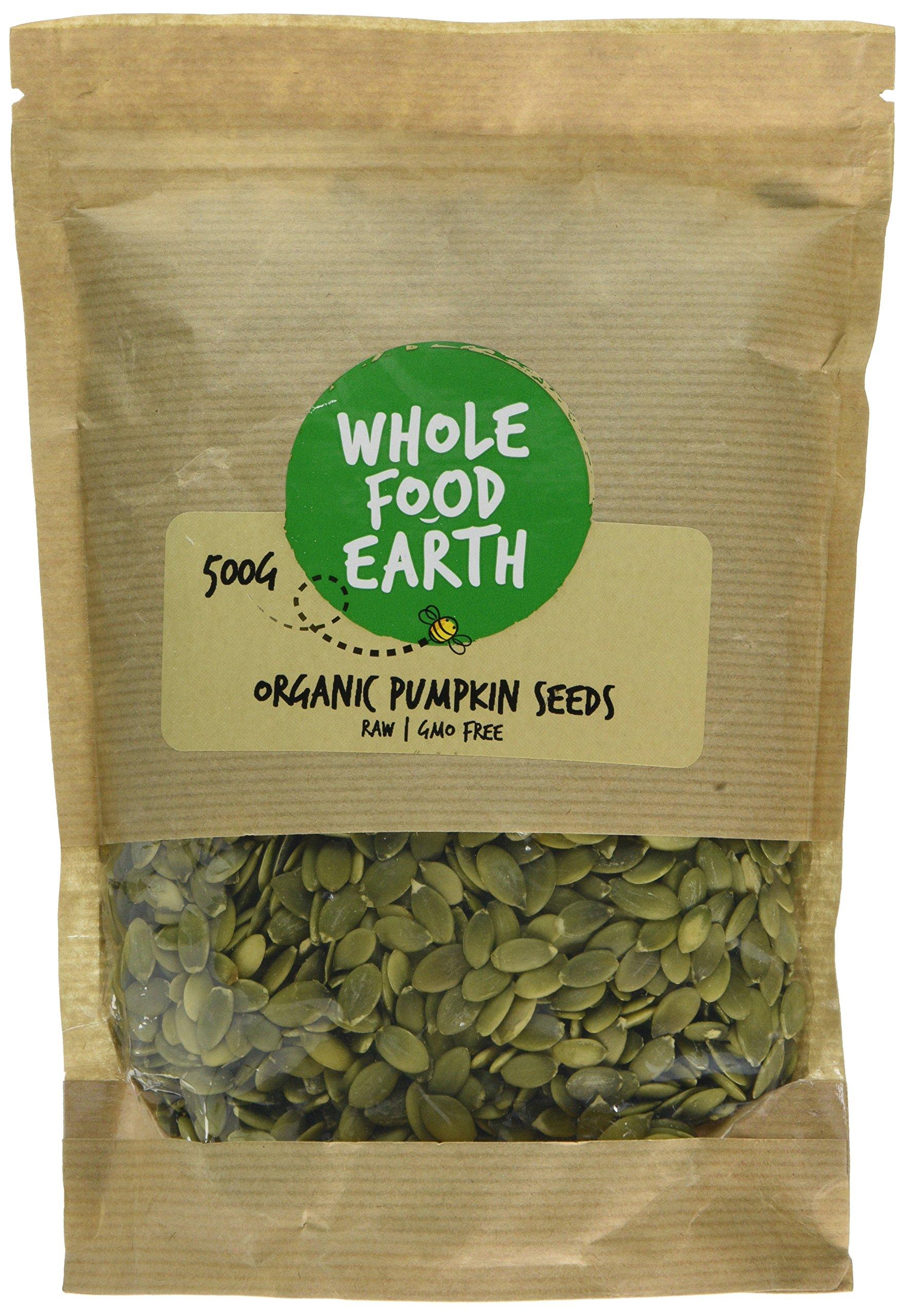 Wholefood Earth Organic Pumpkin Seeds, 500 g