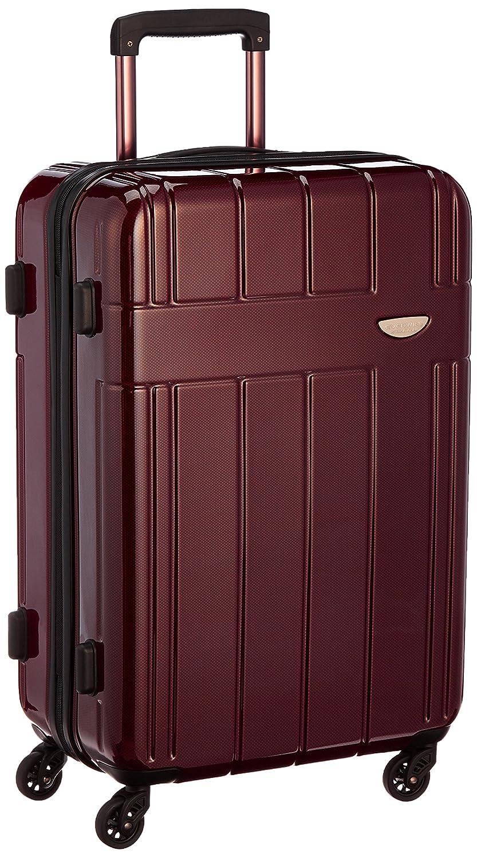 [エバウィン] 軽量スーツケース 【Amazon.co.jp限定】 容量54L 縦サイズ66cm 重量3.3kg EW31234 B018PWQXQE ブラウンカーボン ブラウンカーボン