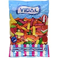 Vidal Dedos Surtidos Golosina - 1500 gr