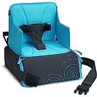 Munchkin BRICA GoBoost Travel Booster Seat, Blue