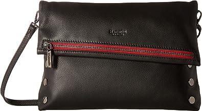 c3ad6d370 Hammitt Women's VIP Large Black/Gunmetal/Red Zipe One Size: Handbags ...