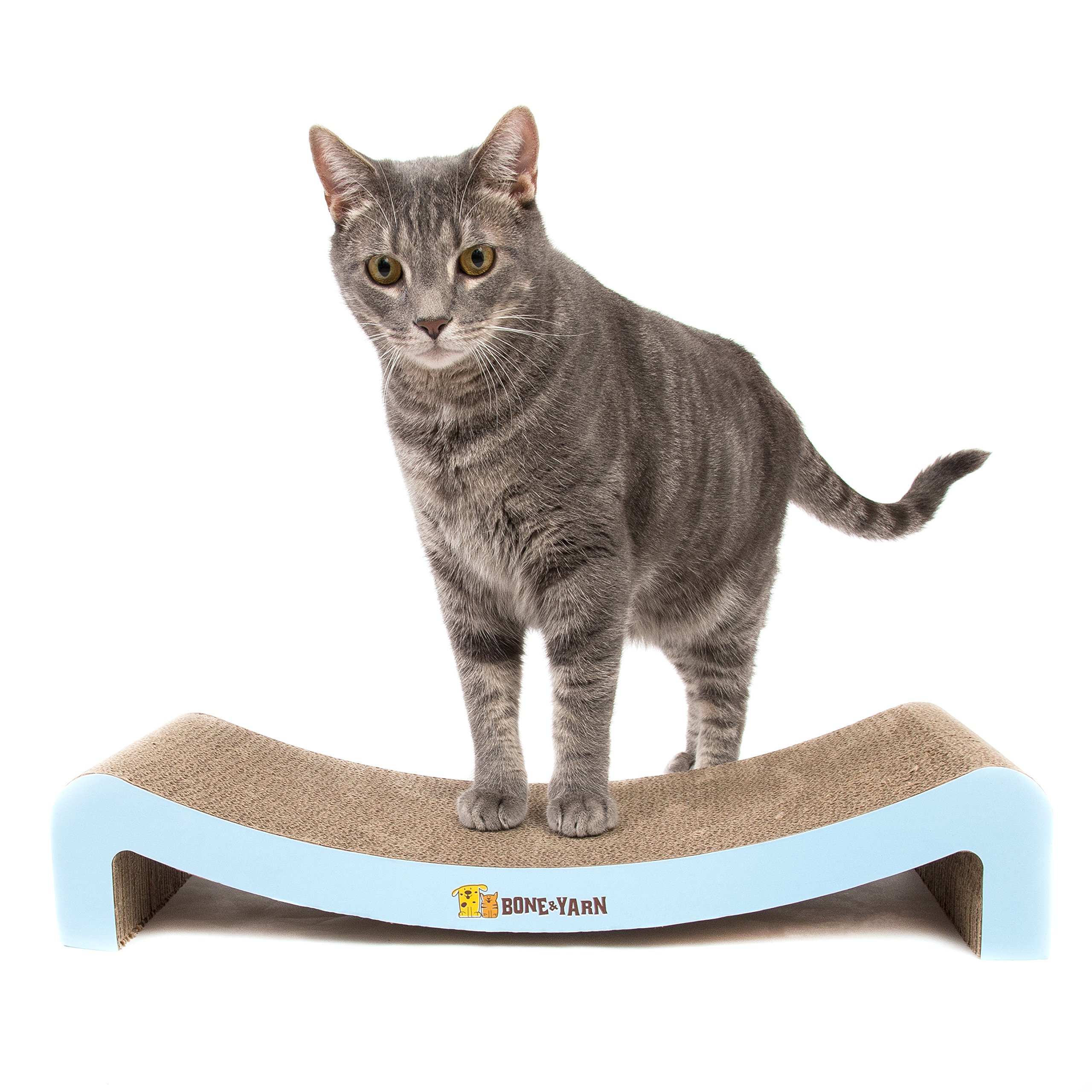 Durable Cat Scratcher Lounge by Bone and Yarn
