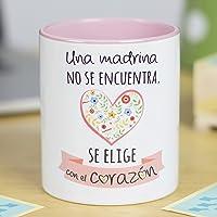 La mente es Maravillosa -Taza Frase y Dibujo Divertido - Regalo Original Madrina
