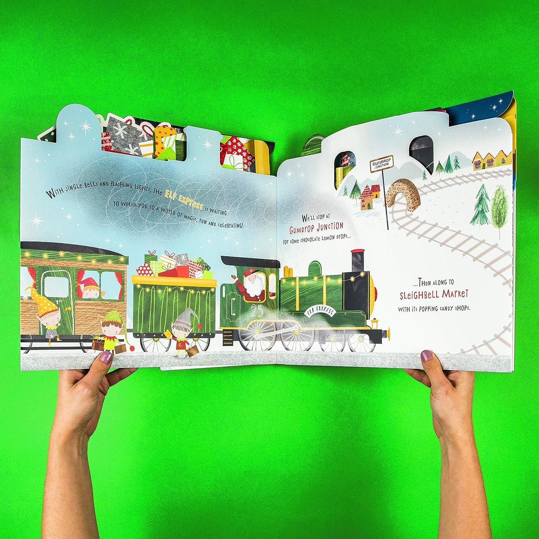 HALLMARK Christmas Express Gingerbread Gumdrop Candy Train Engine Lights /& Music