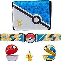 Pokemon Bandolier Set - Features a 2-Inch Pikachu Figure, 2 Clip 'N' Go Poke Balls, a Clip 'N' Go Poke Ball Belt, and a…