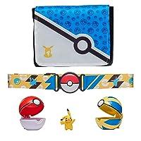 "Pokemon Bandolier Set - Features a 2"" Pikachu Figure, 2 Clip 'N' Go Poke Balls, a Clip 'N' Go Poke Ball Belt, and a Clip 'N' Go Carrying Bag - Bag Folds Out Into Battle Matt for 2 Figures"