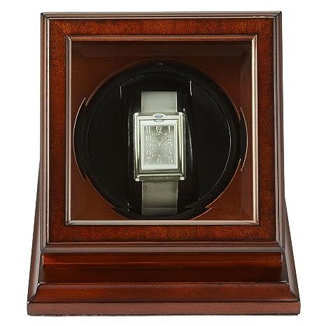 Bombay Company reloj Winder Case – Madera de caoba
