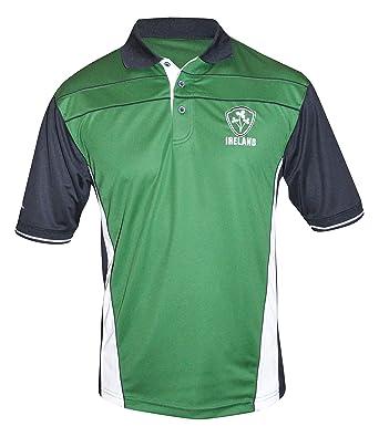 Croker Irlanda Rendimiento Camiseta - Verde Poliéster Bordado ...
