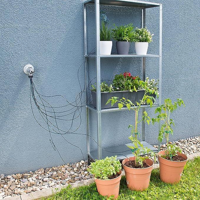 Royal Gardineer Bewässerungsspitzen: Mikro Bewässerungssystem Mit 10  Bewässerungs Spitzen Für Pflanzen (Topfpflanzen Bewässerungs System):  Amazon.de: Garten