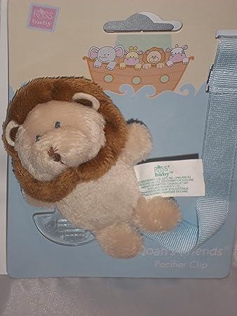 Amazon.com: Peluche Elefante Clip para chupete para el bebé ...