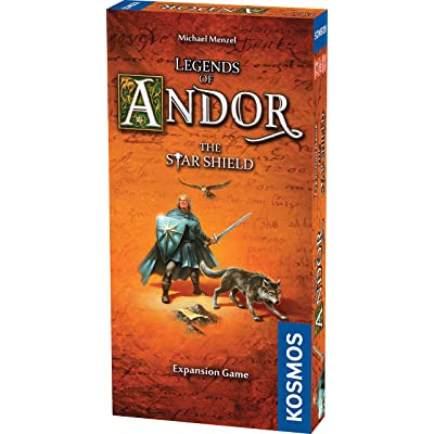 Thames & Kosmos Legends of Andor The Star Shield Expansion | Cooperative Strategy Adventure Board Game: Toys & Games