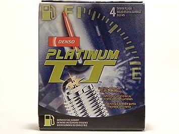 4 pcs * Nuevo * - -denso # 4506 Platinum T T Bujías - -pkh20tt: Amazon.es: Coche y moto