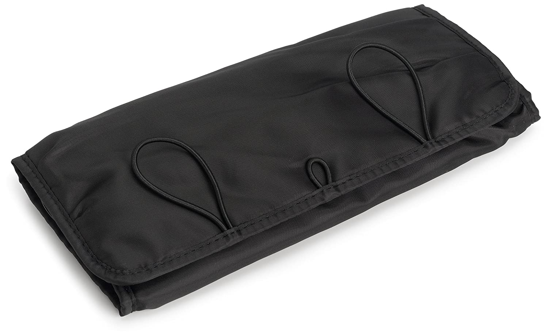 e1d04bedb473 Travelon Jewelry Roll, Black, One Size