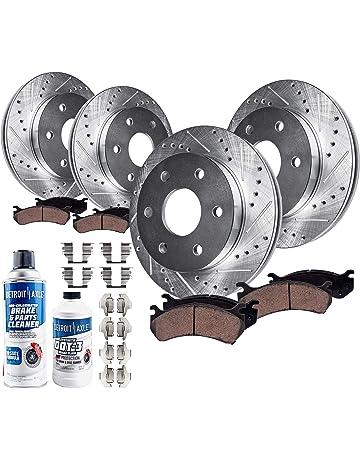 Front Brake Rotors For Cadillac Escalade 2007-2008-2009-2010-2011-2012 to 2019